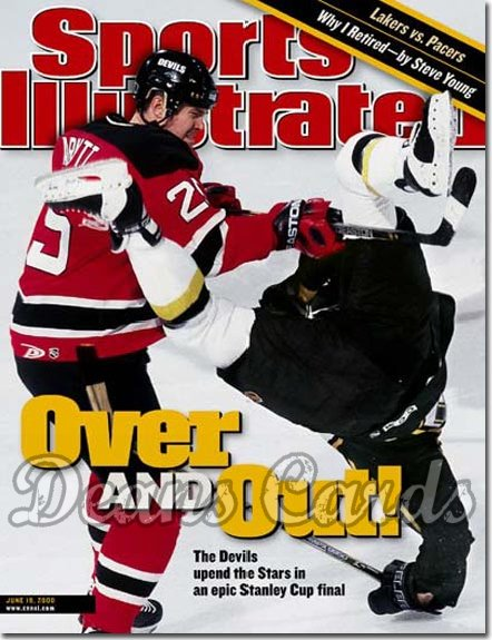 2000 Sports Illustrated - With Label   June 19  -  Jason Arnott (New Jersey Devils vs. Dallas Stars)
