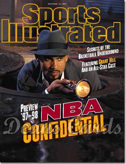1997 Sports Illustrated - No Label   November 10  -  Grant Hill (Detroit) NBA Preview Issue