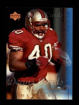 2000 Upper Deck #188  Fred Beasley