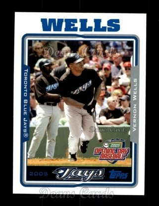 2005 Topps Opening Day #125  Vernon Wells