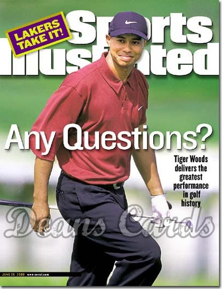 2000 Sports Illustrated   June 26  -  Tiger Woods