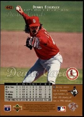 1996 Upper Deck #442  Dennis Eckersley
