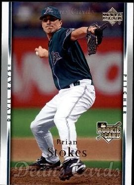 2007 Upper Deck #45  Brian Stokes