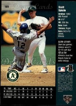 1998 Upper Deck #181  Scott Spiezio