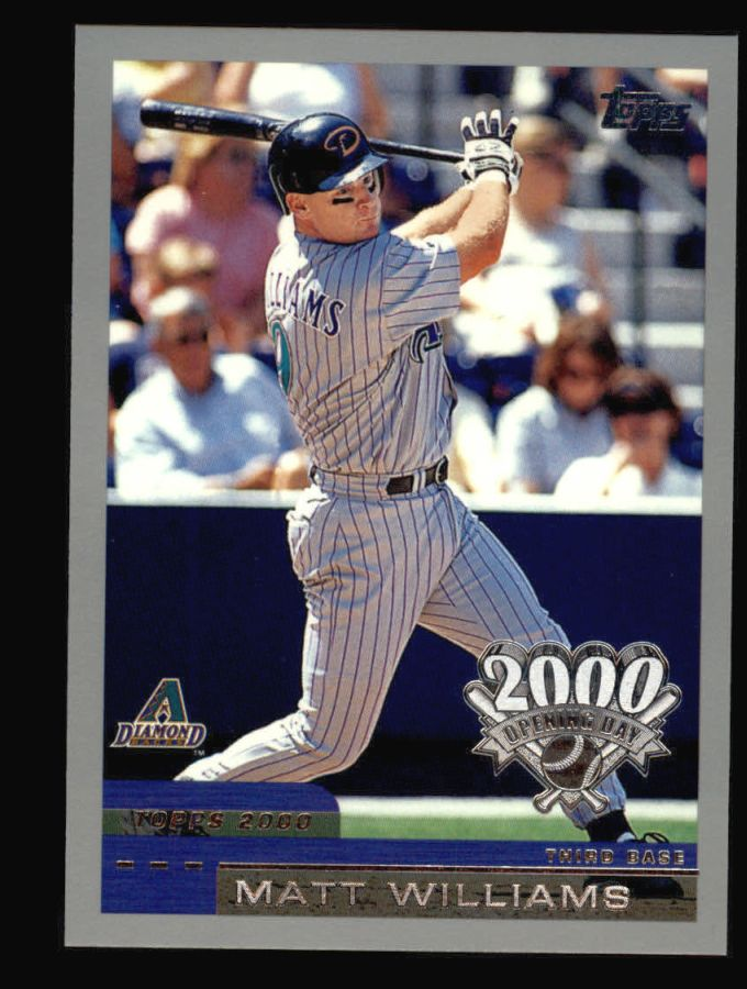 2000 Topps Opening Day #5  Matt Williams