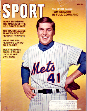 1970 Sport Magazine   -  Tom Seaver  May