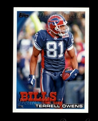 2010 Topps #430  Terrell Owens