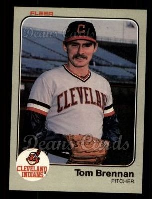 1983 Fleer #403  Tom Brennan