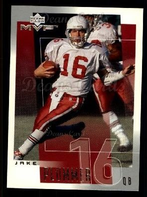 2001 Upper Deck MVP #1  Jake Plummer