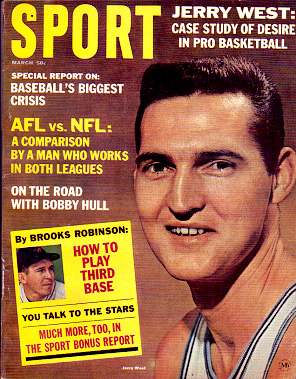 1965 Sport Magazine   -  Jerry West  March