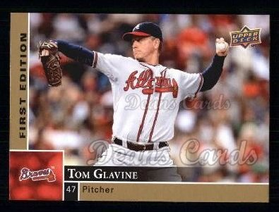 2009 Upper Deck First Edition #15  Tom Glavine