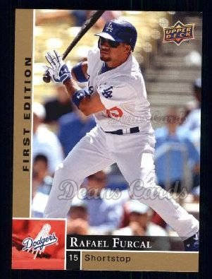 2009 Upper Deck First Edition #155  Rafael Furcal