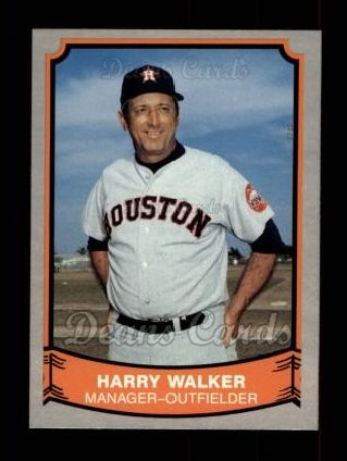 1989 Pacific Legends #190  Harry Walker