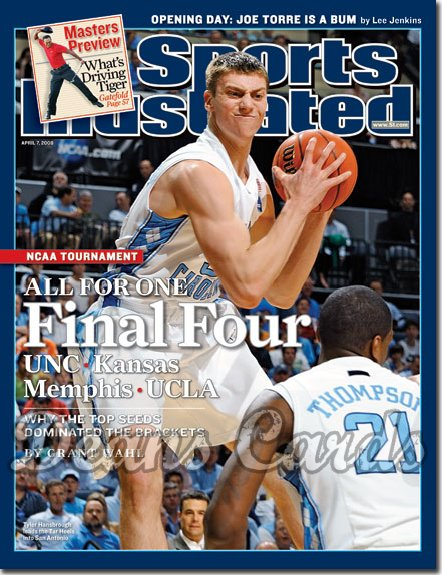 2008 Sports Illustrated   April 7  -  Kevin Love UCLA Bruins Basketball