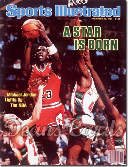 1984 Sports Illustrated   December 10  -  Michael Jordan (Chicago Bulls)