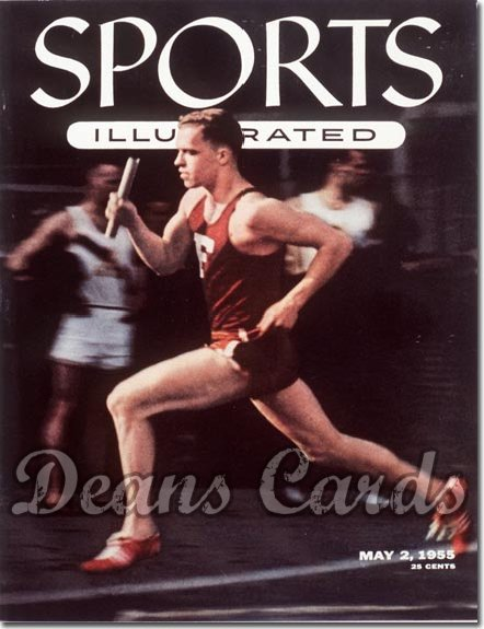 1955 Sports Illustrated   May 2  -  Tom Courtney (Track)