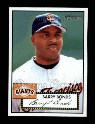 2001 Topps Heritage #31 RED Barry Bonds