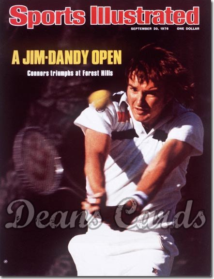 1976 Sports Illustrated   September 20  -  Jimmy Connors