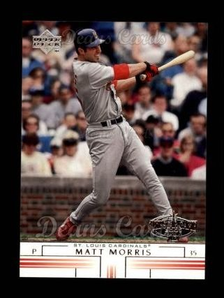 2002 Upper Deck #289  Matt Morris