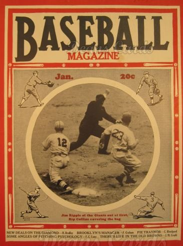 1937 Baseball Magazine    January