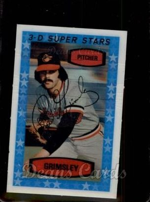 1975 Kellogg's #2  Ross Grimsley