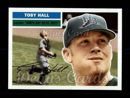 2005 Topps Heritage #385  Toby Hall