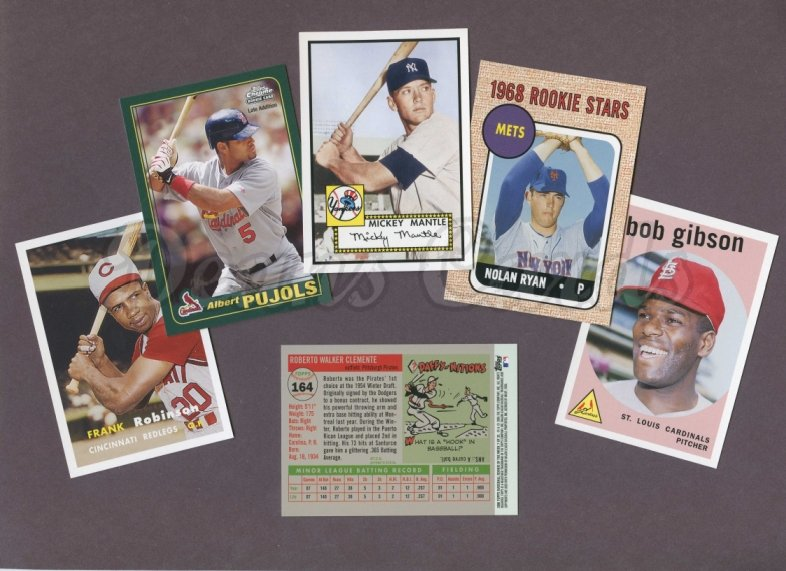 2006 Topps     Rookie of the Week Baseball Complete Set