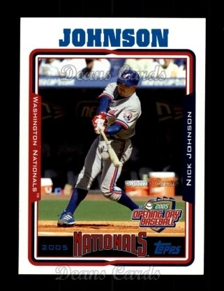 2005 Topps Opening Day #124  Nick Johnson