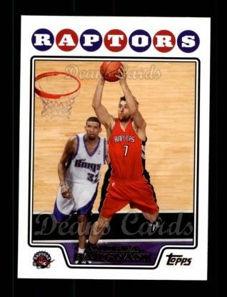 2008 Topps #44  Andrea Bargnani