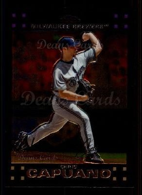 2007 Topps Chrome #156  Chris Capuano