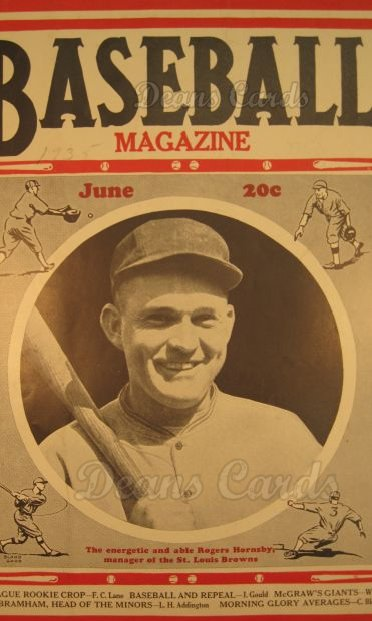 1935 Baseball Magazine    June