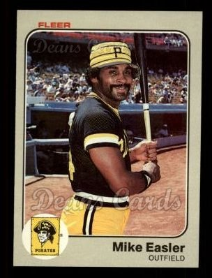 1983 Fleer #306  Mike Easler