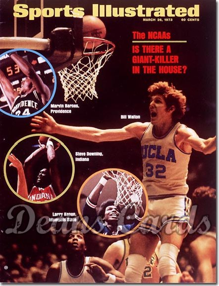 1973 Sports Illustrated - With Label   March 26  -  Bill Walton (UCLABruins)