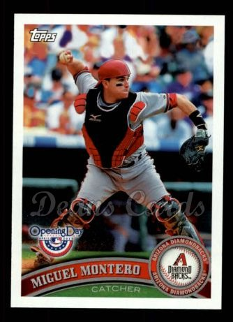 2011 Topps Opening Day #132  Miguel Montero