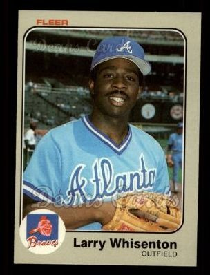 1983 Fleer #152  Larry Whisenton