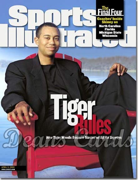 2000 Sports Illustrated   April 3  -  Tiger Woods