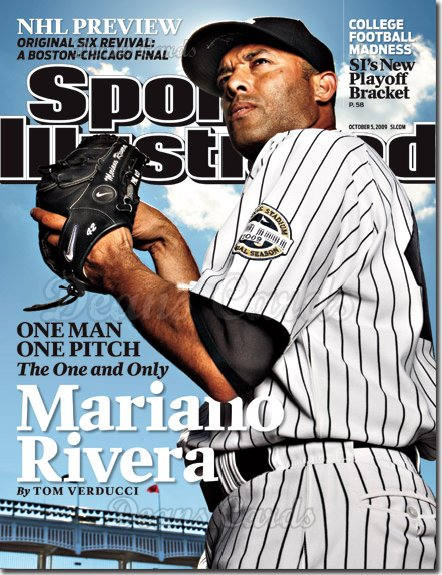 2009 Sports Illustrated - With Label   October 5  -  Mariano Rivera