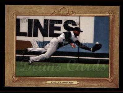 2007 Topps Turkey Red #58  Carl Crawford