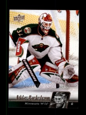 2010 Upper Deck #102  Niklas Backstrom