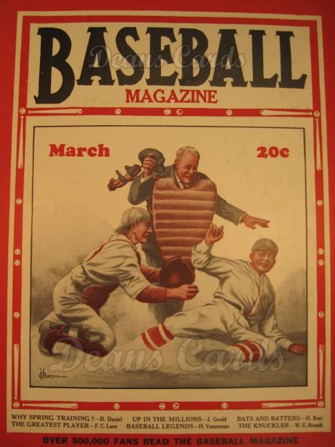 1932 Baseball Magazine    March