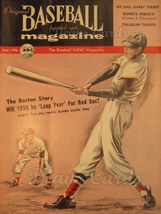 1956 Baseball Magazine    June
