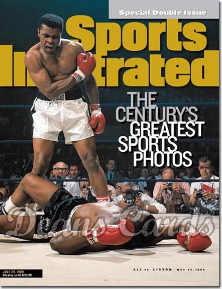 1999 Sports Illustrated - With Label   July 26  -  Muhammad Ali & Sonny Liston
