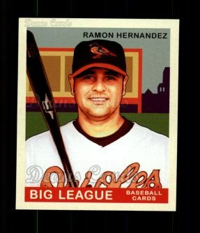 2007 Upper Deck Goudey Red Backs #132  Ramon Hernandez