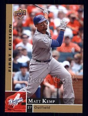 2009 Upper Deck First Edition #151  Matt Kemp