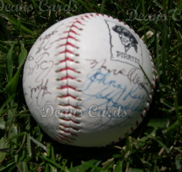 1984 Pirates Team Autographed Ball