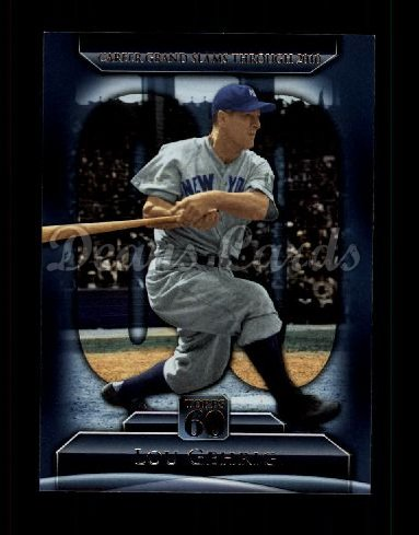 2011 Topps 60 #130 T-60 Lou Gehrig