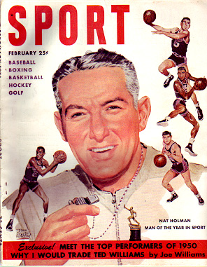 1951 Sport Magazine   -  Nat Holman  February