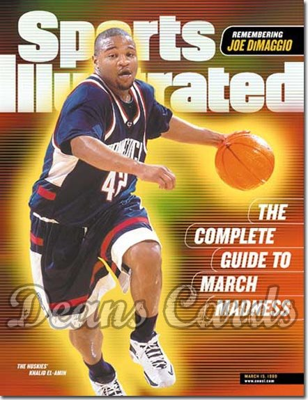 1999 Sports Illustrated - With Label   March 15  -  Mateen Cleaves Michigan St Spartans (Regional)