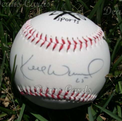 Kerry Wood Autographed Ball