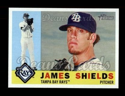 2009 Topps Heritage #376  James Shields